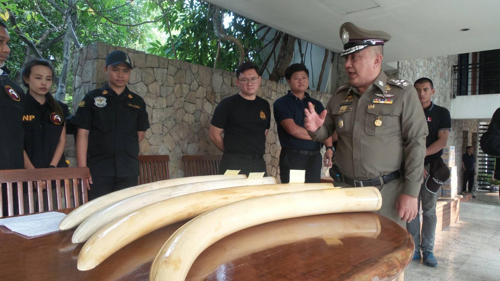 Thai Police งาช้าง