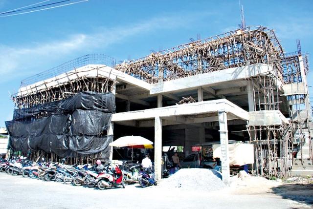 โครงการก่อสร้างอาคารที่ทำงานสถานีตำรวจทดแทน 396